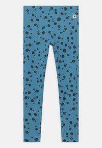 Lindex - BASIC DOTS UNISEX - Leggings - Trousers - blue - 0