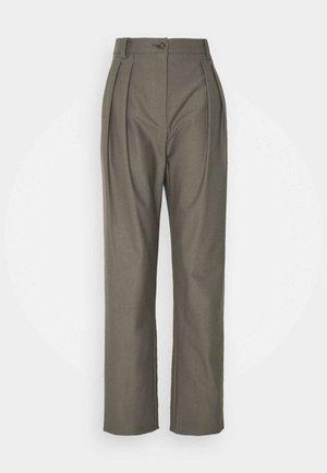 PANTALONI TROUSERS - Trousers - dark acier