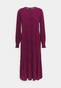 GAP - HENLEY MIDI - Maxi dress - burgundy - 0