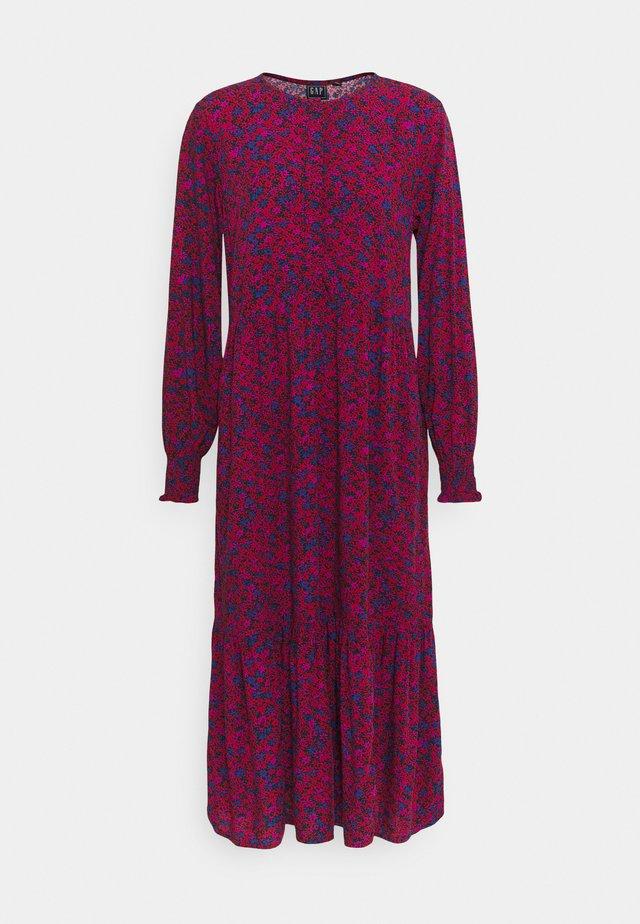 HENLEY MIDI - Robe longue - burgundy