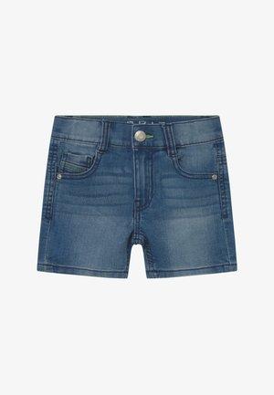 Denim shorts - light indigo denim