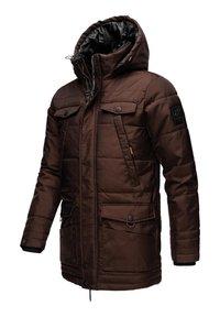 Navahoo - LUAAN - Winter coat - brown melange - 3