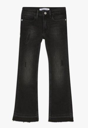 FLARE WORN  - Flared Jeans - denim