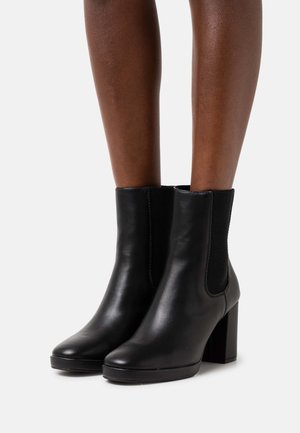 ONLBERRIE HEELED BOOT  - Classic ankle boots - black