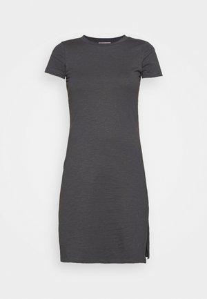 Jerseykjole - dark grey