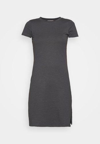 Žerzejové šaty - dark grey