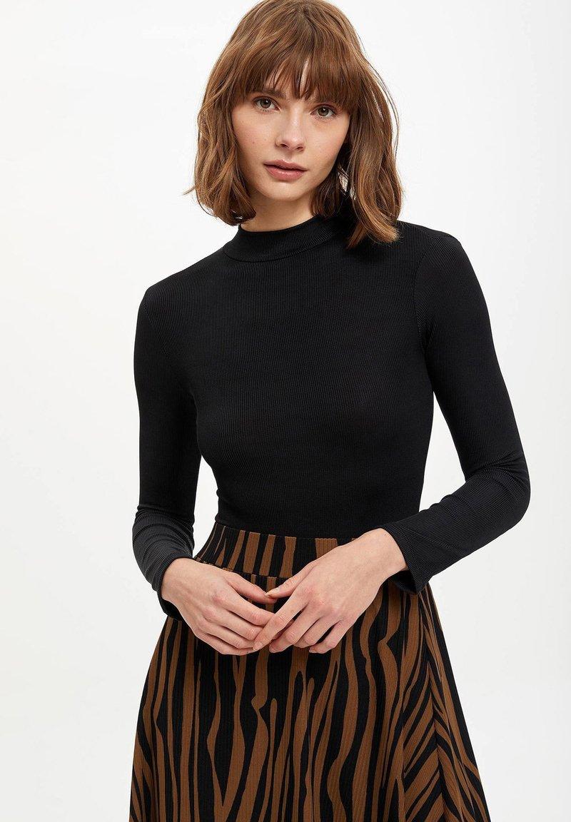 DeFacto - Long sleeved top - black