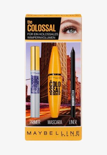 THE COLOSSAL SET - Makeup set - black