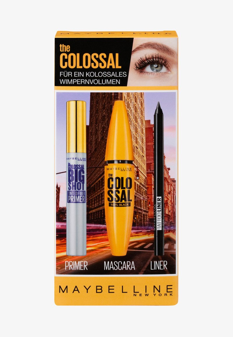 Maybelline New York - THE COLOSSAL SET - Makeup set - black