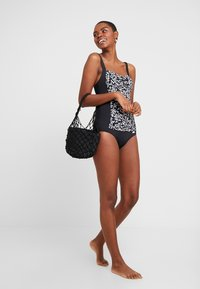 LASCANA - SWIMSUIT - Badpak - black - 1