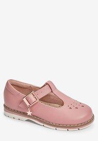 Next - STAR CHARM - Ankle strap ballet pumps - pink - 1