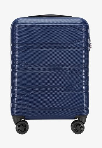 TRAIL STYLE - Wheeled suitcase - navy blue
