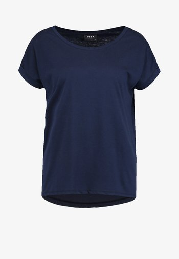 VIDREAMERS PURE - Basic T-shirt - total eclipse