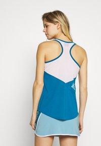 La Sportiva - CHEMISTRY TANK - Treningsskjorter - neptune/pacific blue - 2