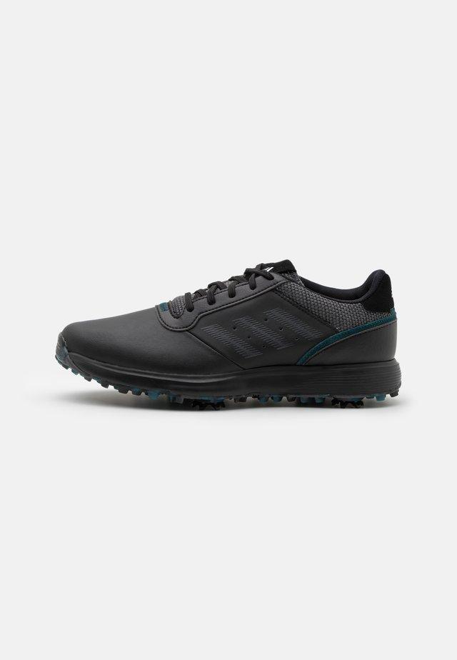 SPIKED LACE - Obuwie do golfa - core black/grey six