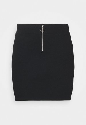 TUBE SKIRT - Mini skirt - black