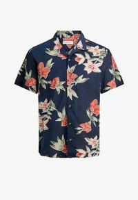 Jack & Jones - JJGREG PLAIN - Shirt - navy blazer - 0