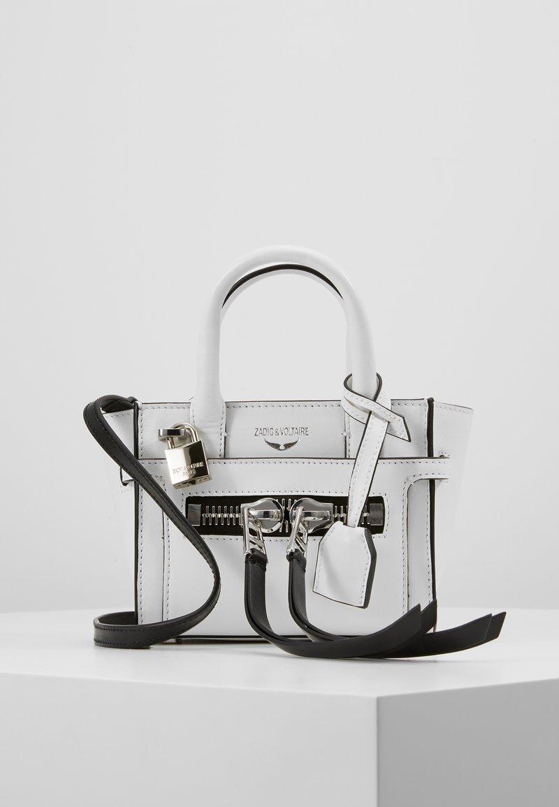 Zadig & Voltaire - CANDIDE NANO  - Handbag - blanc