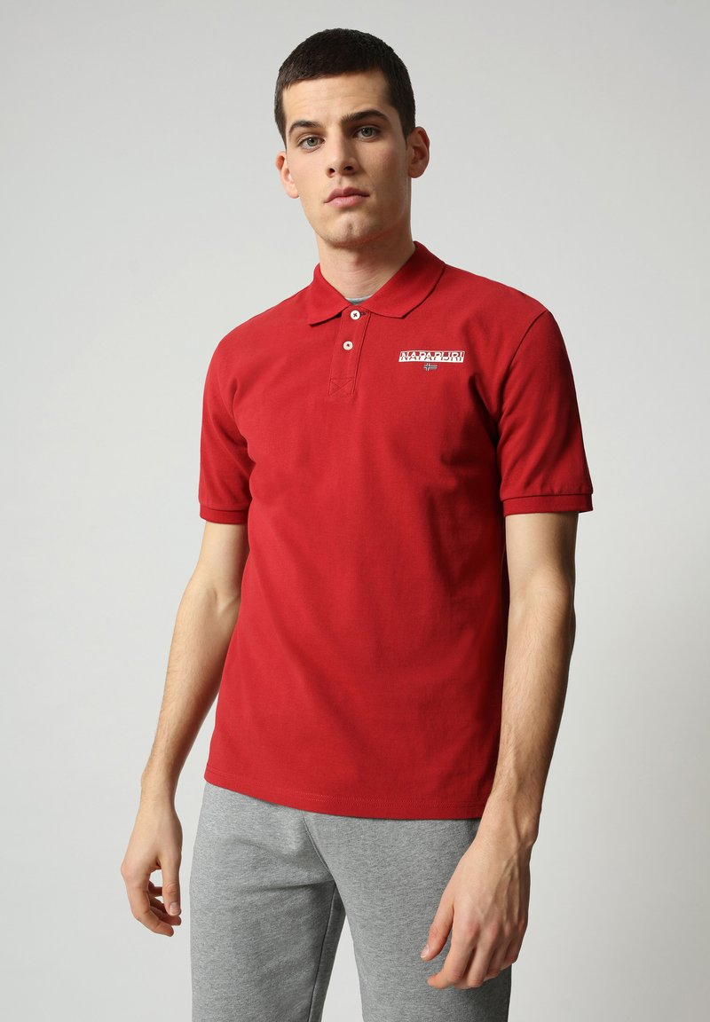 Napapijri - E-ICE - Polo shirt - old red