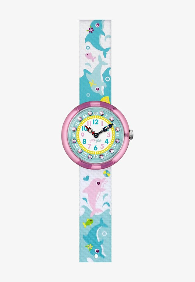SPLASHY DOLPHINS - Watch - turquoise