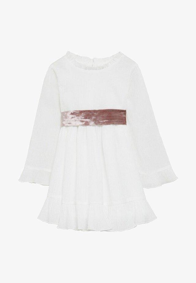 REBECA - Kjole - blanc cassé