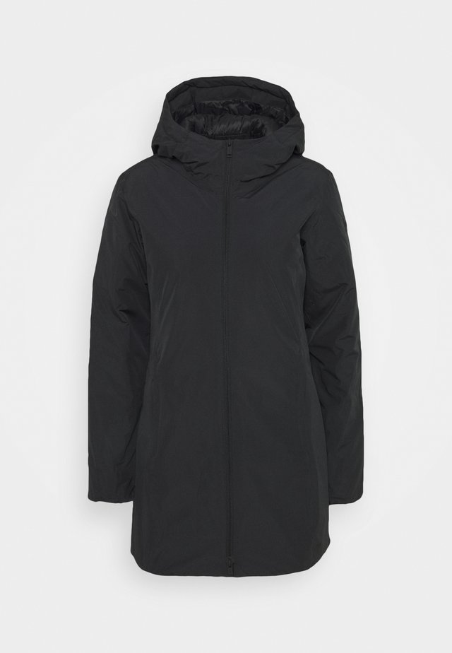FIX HOOD - Winter coat - nero