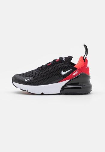 AIR MAX 270  - Sneakers basse - black/white/university red/bright crimson