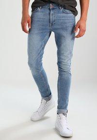 Pier One - Jeansy Skinny Fit - light blue - 0