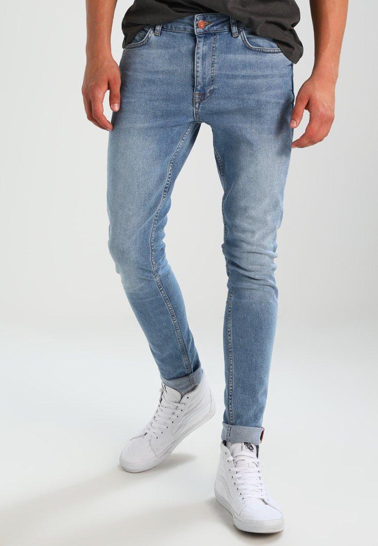 Pier One - Jeansy Skinny Fit - light blue
