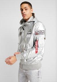 Alpha Industries - HOODED NASA - Summer jacket - silver - 2