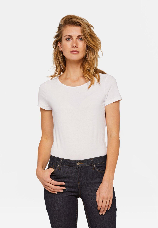Damen WE FASHION DAMEN-T-SHIRT AUS BIO-BAUMWOLLE - T-Shirt basic