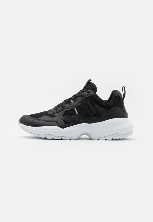QUANTM UNISEX - Trainers - black/white