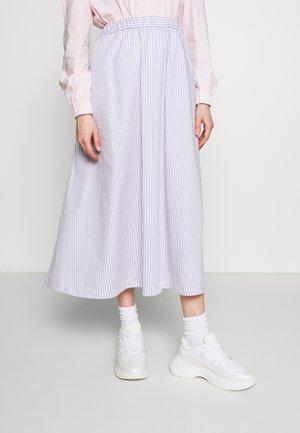 BOX - A-line skirt - lavender