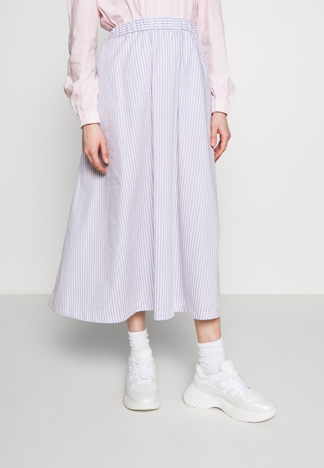 BOX - A-line skirt - lavender