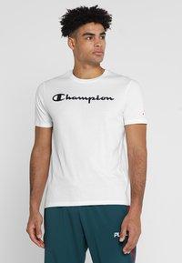 Champion - CREWNECK  - Camiseta estampada - white - 0