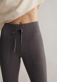 OYSHO - COMFORT - Collants - dark grey - 3
