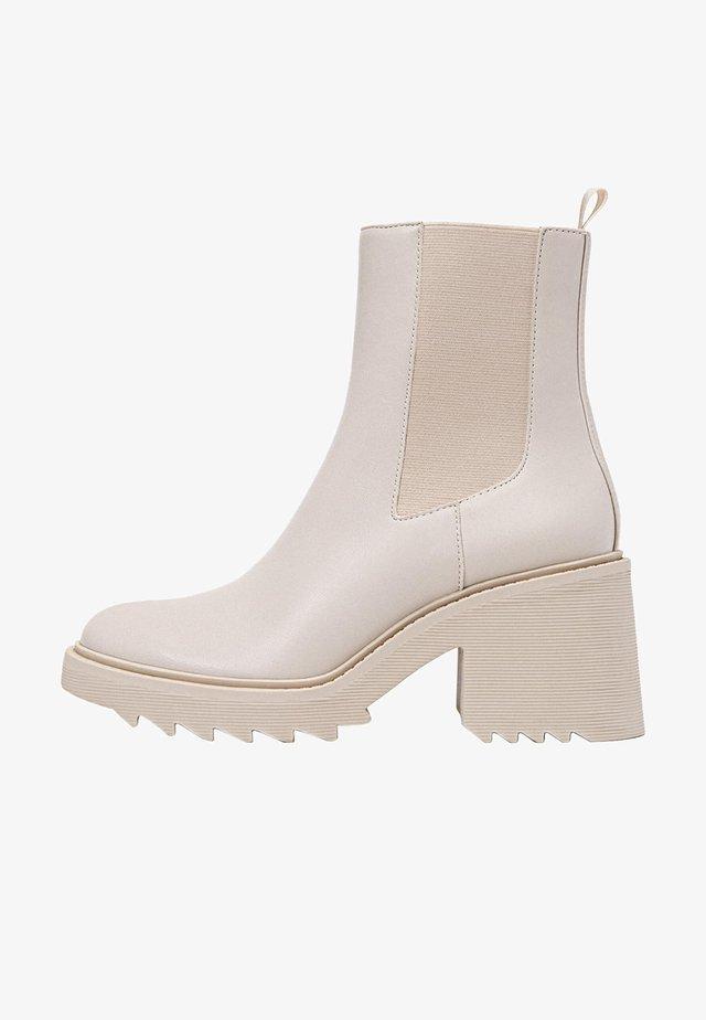 Korte laarzen - off-white