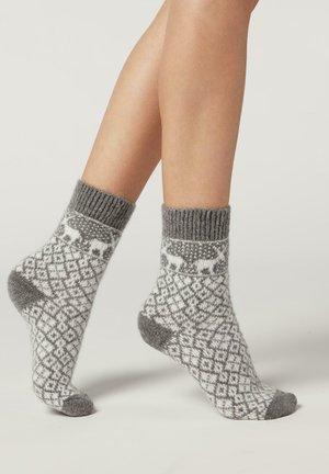 MIT NORWEGERMUSTER - Socks - norwegian grey