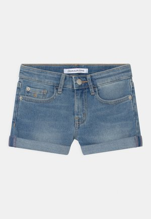 SLIM - Denim shorts - denim