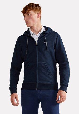 THIAGO - Zip-up sweatshirt - navy