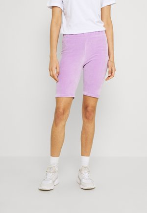 DIAMANTE BUTTERFLY - Shorts - lilac