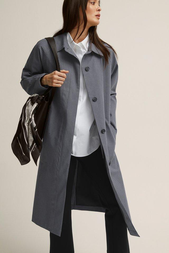 Halflange jas - grey, light grey, light grey