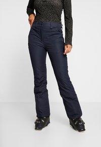 CMP - WOMAN SKI PANT - Spodnie narciarskie - black/blue - 0