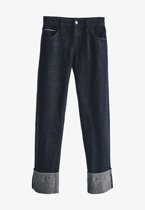 SELVEDGE - Jean droit - dark blue