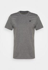 4F - Men's T-shirt - Basic T-shirt - grey - 0