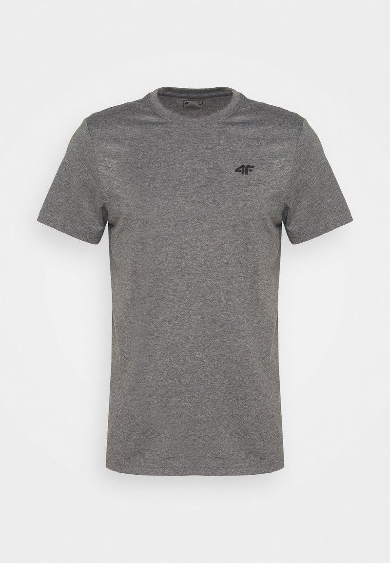 4F - Men's T-shirt - Basic T-shirt - grey
