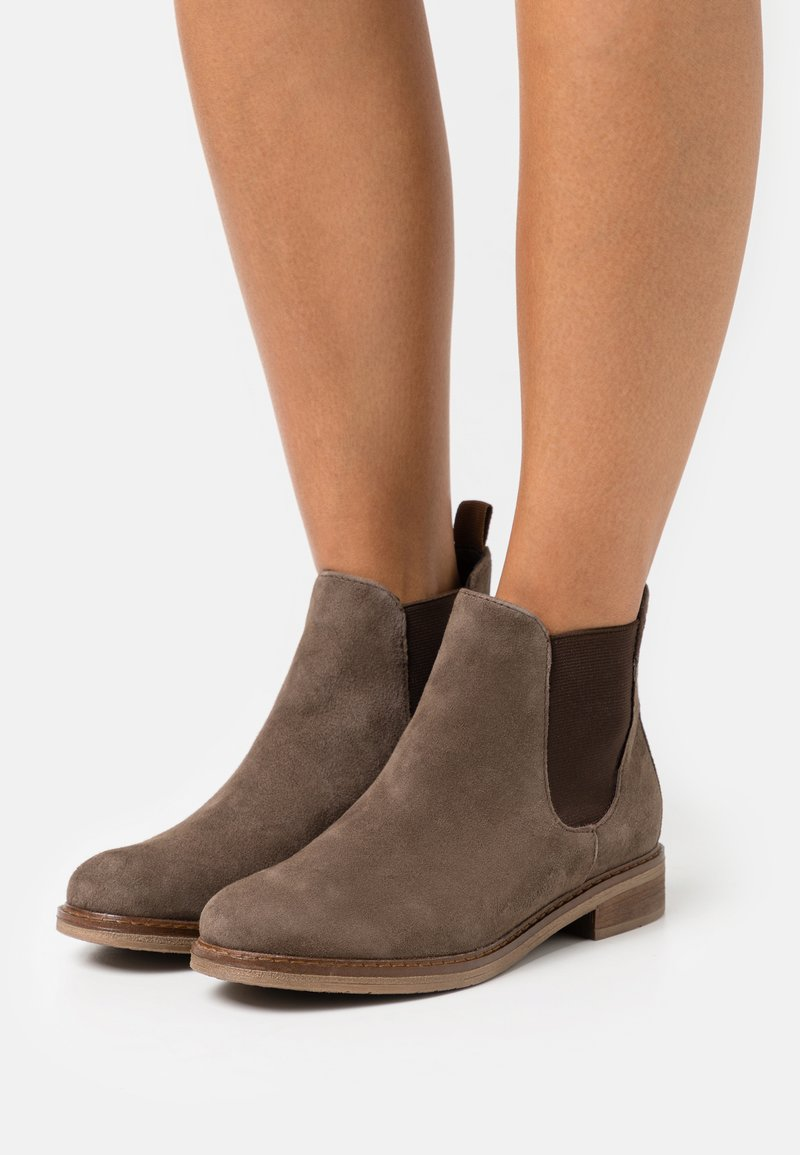 Anna Field - LEATHER - Ankle boot - brown