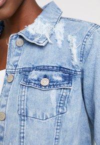 Lez a Lez - JAQUETA - Veste en jean - blue denim - 5