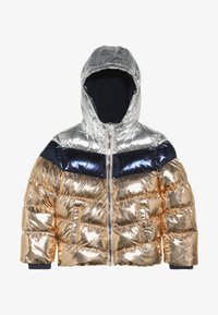 copper metallic/silver metallic