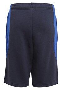adidas Originals - COLOURBLOCK UNISEX - Shorts - legend ink/team royal blue - 1